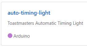 AutoTimingLightGithub